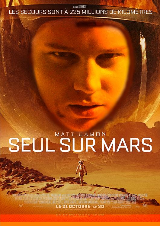 Kilian seul sur Mars